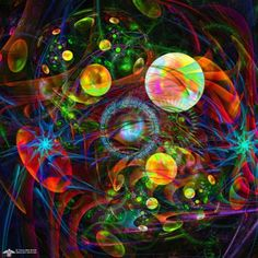 Enter the Multiverse by James Alan Smith #art #digitalart #abstract
