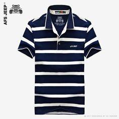 Summer Striped 2017 Polo Shirt -     FREE SHIPPING