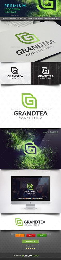Grand Tea - Abstract Letter G Template #design #logotype Download: http://graphicriver.net/item/grand-tea-abstract-letter-g/11662706?ref=ksioks