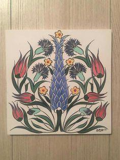 :) Turkish Art, Turkish Tiles, Truck Art Pakistan, Islamic Tiles, Folk Art, Pottery, Ceramics, Prints, Tiles