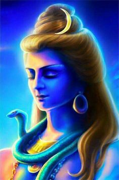 Why is Lord Shiva called Neelkanth? - Unlike many other gods, Lord Shiva has very specific stories associated with the names that he bears. Shiva Linga, Shiva Shakti, Pictures Of Shiva, Angry Images, Hd Images, Shiva Angry, Mahavatar Babaji, Om Namah Shivay, Lord Shiva Painting