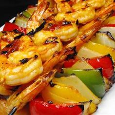Amazing Spicy #Grilled Shrimp | #grilling #summer #seafood #sidedish