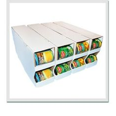 Looking for can storage to make access easier?