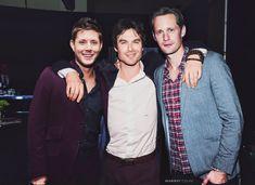 Jensen Ackles, Ian Somerhalder and Alexander Skarsgard