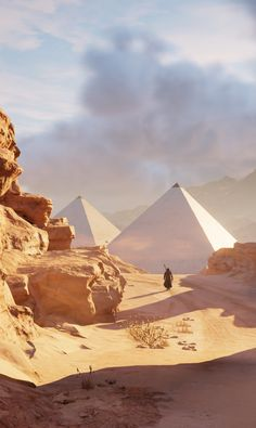 Asesins Creed, All Assassin's Creed, Arte Assassins Creed, Assassins Creed Origins, Fantasy Places, Fantasy World, Ancient Egypt Art, Ancient Aliens, Ancient Artifacts