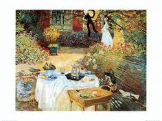 Le Dejeuner  Claude Monet  impressionismo