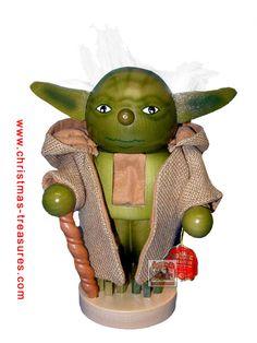 Yoda nutcracker.