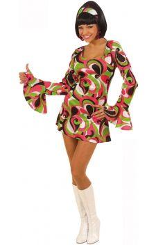 Faîtes un bond dans le temps et devenez la reine du dance floor avec cette robe disco !