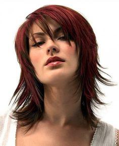 Shoulder Length Shag Haircuts For Women Over 40 Wallpaper