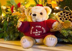 The Ashdown Park teddy - @Ashdown Park Hotel @Elite Hotels #Christmas