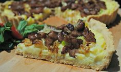 Idaho® Potato Caramelized Leeks and Sausage Pie. Father's Day, #gluten free, #dairy free www.thewholegang.org
