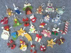 Calendario dell'Avvento in feltro: Cartamodelli e Tutorial Christmas Crafts, Xmas, Kids Rugs, Tutorial, Handmade, Advent Calendars, Inspiration, Hobby, Camping
