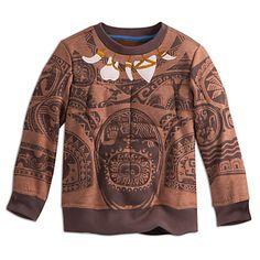 Maui Costume Sweatshirt for Boys - Disney Moana | Disney Store