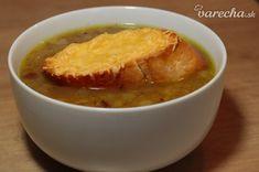 Francúzska cibuľová polievka (videorecept) - recept | Varecha.sk