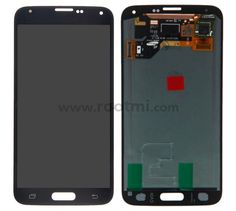 For Samsung Galaxy S5 SM-G900/G900A/G900V/G900P/G900R4/G900T/G900F LCD Screen and Digitizer Assembly Replacement - Black