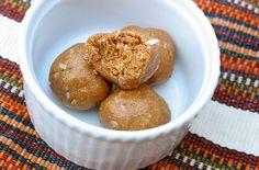 Milk and Honey Peanut Butter Balls