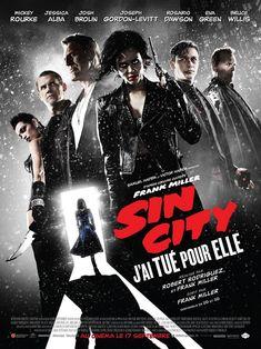 Sin City : j'ai tué pour elle est un film de Frank Miller avec Eva Green, Josh Brolin. Synopsis : Dans une ville où la justice est impuissante, les plus désespérés réclament vengeance, et les criminels les plus impitoyables sont poursuivis par des