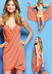 Nuevo vestido de playa igual que una chaqueta de moda