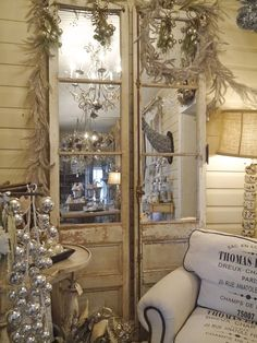 Chateau Chic - Mirrored French Doors