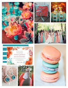 amazing wedding color scheme!