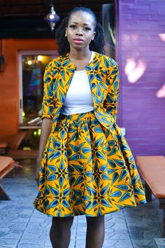 african fashion trends looks amazing. African Fashion Designers, African Inspired Fashion, African Print Fashion, Africa Fashion, African Fashion Dresses, Fashion Prints, African Outfits, African Prints, African Fabric