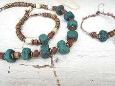 """Une parure collier, bracelet et boucles d'oreille pour """" Des Chemins d'Histoires ..... """" : Parure par les-reves-de-minsy"""