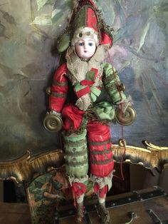All original Gaultier Polichinelle from antiquedolls6395 on Ruby Lane