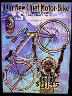 indian bicycle ad