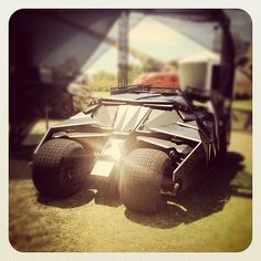 The Dark Knight Rises Tumbler at ComicCon! #Batman #TDKR