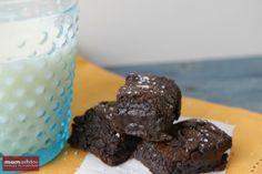 Dark Chocolate & Sea Salt Brownies - The Motherload