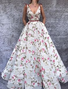 Sweet Aster TMD Gown