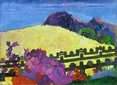 The Sacred Mountain (Parahi Te Marae) - Paul Gauguin  1892