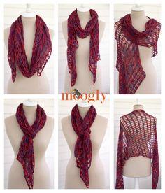 ergahandmade: Crochet Scarg + Diagram + Free Pattern