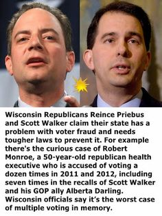 Reince Priebus & Scott Walker