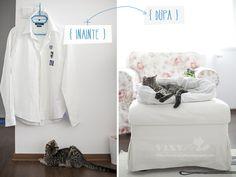 Vixyblu - handmade creative boutique: DIY: Pernuta pentru pisica