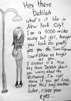 Plain White T's- Hey There Delilah ..This used to be my favorite song! :)