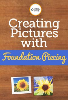 It's time to get creative and make beautiful images with foundation piecing. Dana Jones demonstrates helpful tips and techniques for making perfect images of people, animals, objects and much more. See several examples and learn how to create your very own quilt of an any image you'd like.