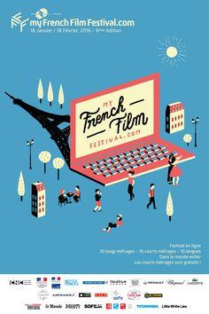 On Partage En Français: My French Film Festival 2016