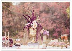 Image result for plum fall decor