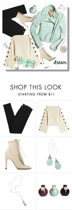 """Dreamer"" by outfitsloveyou ❤ liked on Polyvore featuring Yves Saint Laurent, Petar Petrov, Sergio Rossi, BillyTheTree and Fountain"