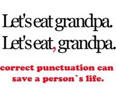 Punctuation Police.