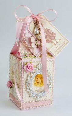 Decorative Box: via Tara's Craft Studio...create your own, make your own magic :) (http://tarascraftstudio.com/)