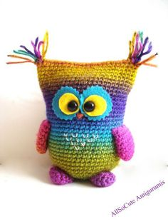 Crocheting: Crochet Owl $2.50