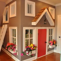 Kids Photos Indoor Playhouse Design Ideas, Pictures, Remodel, and Decor - page 14