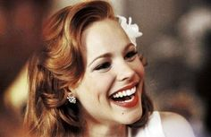 Rachel McAdams with such a contagious smile!