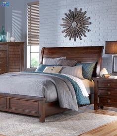 Stylish slumber has never been easier than with the elegantly designed Mango Bedroom.