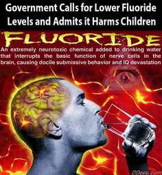 The United States government finally acknowledged the harmful effects that fluoride has on the body, and recommends that water fluoridation levels be decreased nationwide.  Water fluoridation has been in effect in the United States for over 65 years.