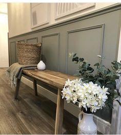 Home Design Plans, Home Interior Design, Cottage Hallway, Victorian Hallway, Hallway Designs, Guest Room Decor, Hallway Decorating, Decoration, New Homes