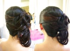updos for wedding to the side | Australian Weddings • View topic - Curly Side Ponytail Help.