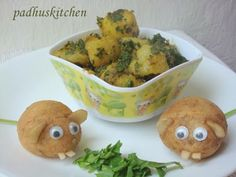 EASY INDIAN SPINACH POTATO CURRY recipe - One of the tastiest Indian side dishes - cubed potatoes, spinish and curry spices.